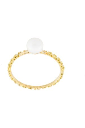 WOUTERS & HENDRIX Pearl and chain ring