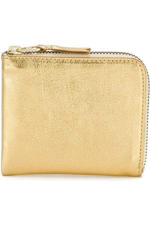 Comme des Garçons Metallic zipped wallet