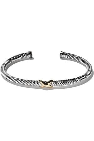David Yurman Ženy Náramky - 18kt yellow gold X silver cuff bracelet