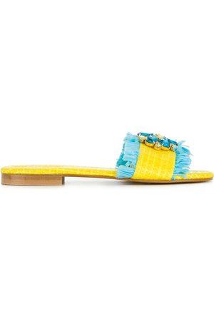 Emanuela caruso Ženy Sandály - Floral embellished sandals