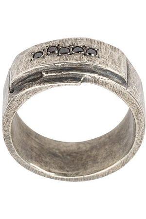TOBIAS WISTISEN Muži Prstýnky - Folded Stones ring