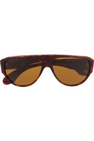 Persol 1970s round frame sunglasses