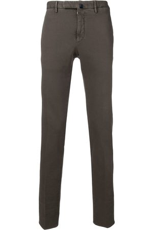 Incotex Textured tailored trousers