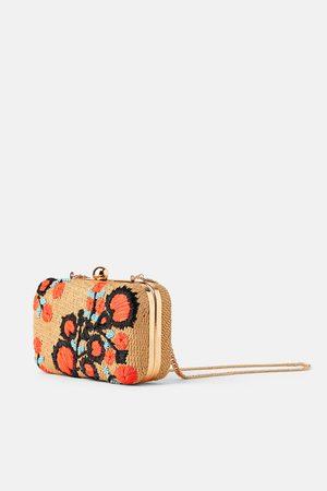 Zara Přírodní zapletená kabelka do ruky