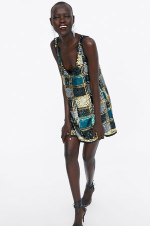 Zara šaty s flitry limited edition