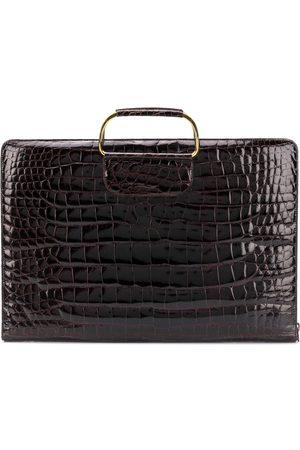 Katheleys Vintage 1970's metal handles briefcase