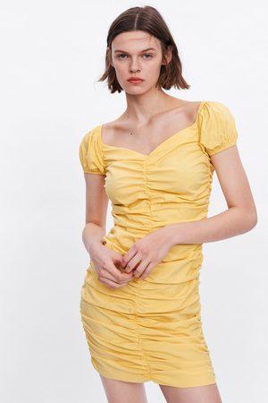 Zara šaty s nabíráním
