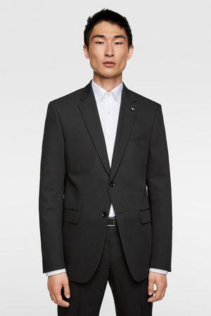 Zara Oblekové sako chintz komfort