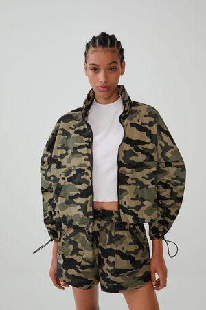 Zara Skládací pláštěnka - batoh