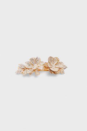 Zara Třpytivá sponka s květy