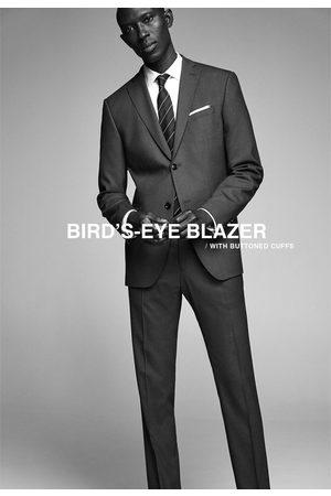 Zara Oblekové sako birdseye