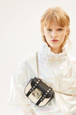 Zara Plátěná mini kabelka přes rameno rock