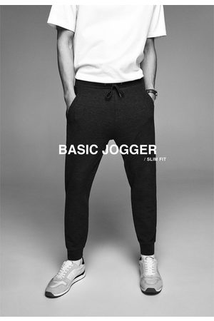 Zara Kalhoty jogger basic