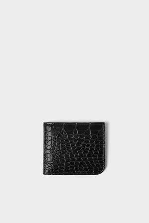 Zara Peněženka s raženým plazím vzorem