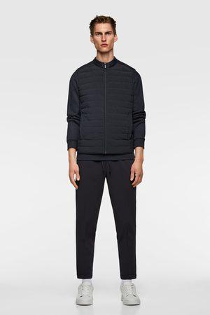 Zara Prošívaná kombinovaná vesta