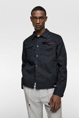 Zara Rustikální bunda s kapsami
