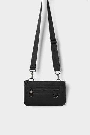 Zara Kombinovatelná mini ledvinka černá