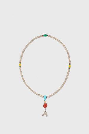 Zara Kombinovaný korálkový náhrdelník