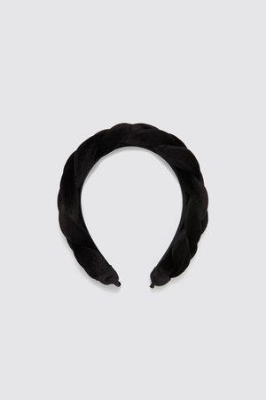 Zara Sametová čelenka se zapletením