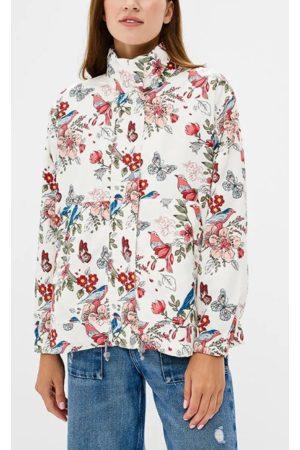 Pepe Jeans Ženy Bundy - Dámská bunda Jakna se vzorem