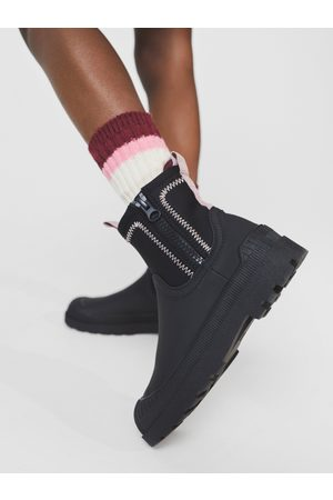 Zara žebrované ponožky s proužky.