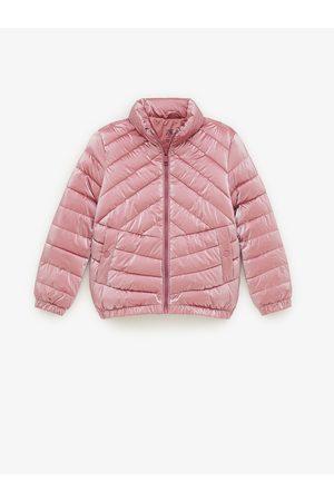 Zara Lehká polstrovaná třpytivá bunda