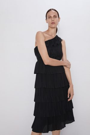 Zara Kombinované asymetrické šaty