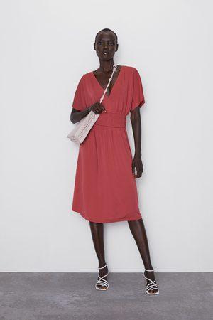 Zara šaty s elastickým pasem