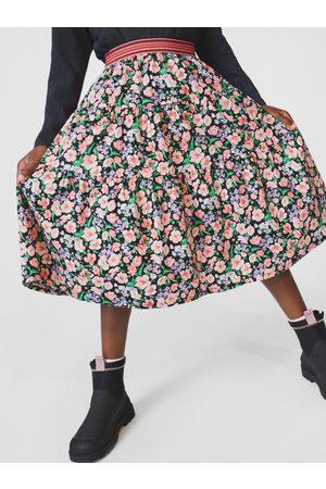 Zara Sukně midi s květy
