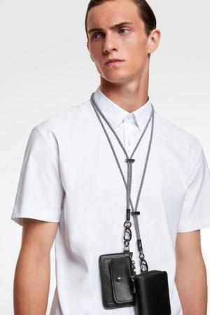 Zara Košile traveler s krátkým rukávem