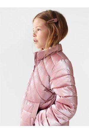 Zara Děti Bundy - Lehká polstrovaná třpytivá bunda