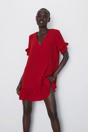 Zara šaty s volánem