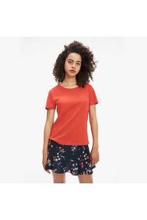Tommy Hilfiger Dámské červené tričko Jersey