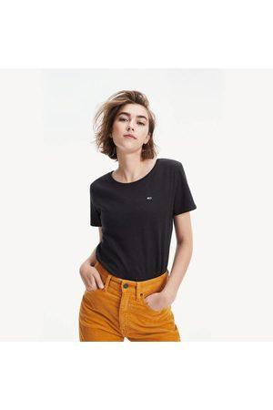 Tommy Hilfiger Ženy Trička - Dámské černé tričko Jersey