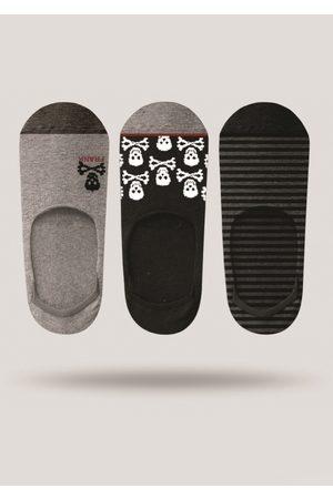 JOHN FRANK Muži Ponožky - Pánské ponožky JF3NS17S21 3PACK UNI