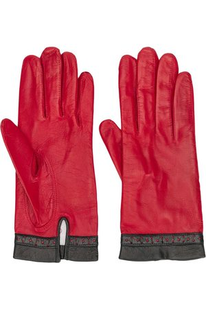 Céline 1980/1990's perforated detail gloves