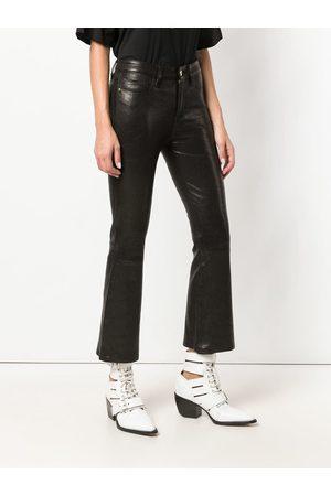 Frame Kick flare trousers