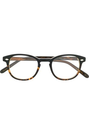 LESCA 711 square frame glasses