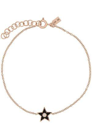EF Collection 14kt gold diamond star bracelet