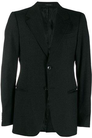 Giorgio Armani 1990's pinstriped blazer