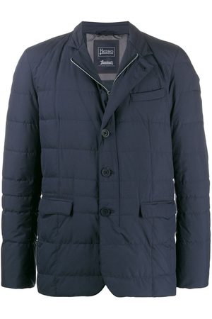 HERNO Buttoned up padded jacket