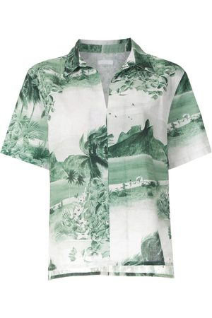 OSKLEN RJ print short sleeves shirt
