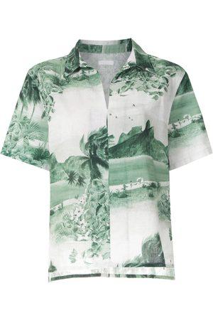 OSKLEN Ženy S krátkým rukávem - RJ print short sleeves shirt