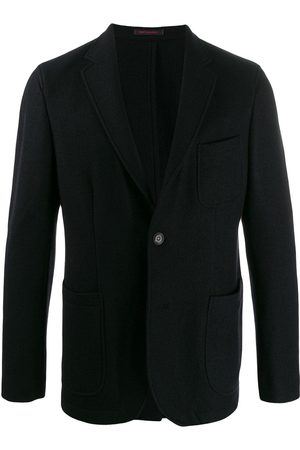 THE GIGI Single breasted knitted blazer