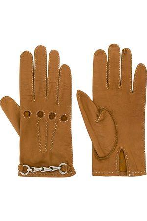 Céline 1980/1990's chain detail gloves