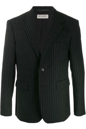 Saint Laurent Muži Saka - Pinstriped buttoned blazer