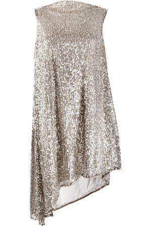 HALPERN Ženy Asymetrické - Sequined asymmetric dress