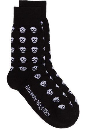 Alexander McQueen Skull motif socks