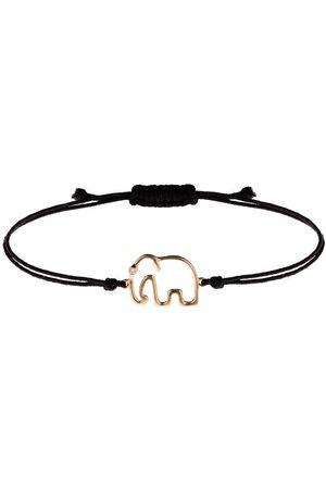 Yvonne Léon 9kt gold and diamond Elephant bracelet
