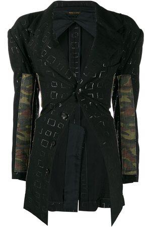 Comme des Garçons 2000's camouflage panels jacket